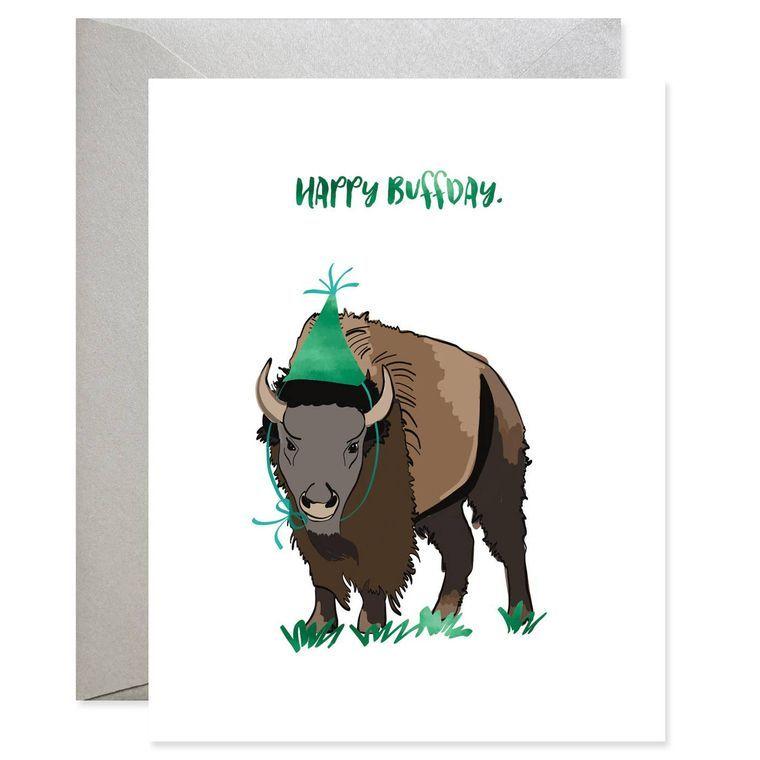 Happy Buffday Card