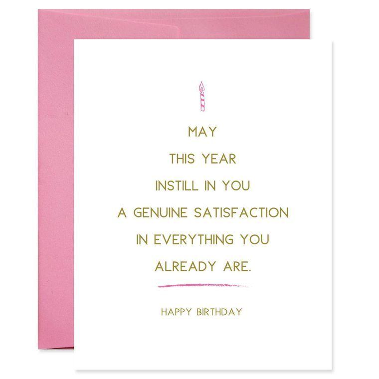 New Year Birthday Card