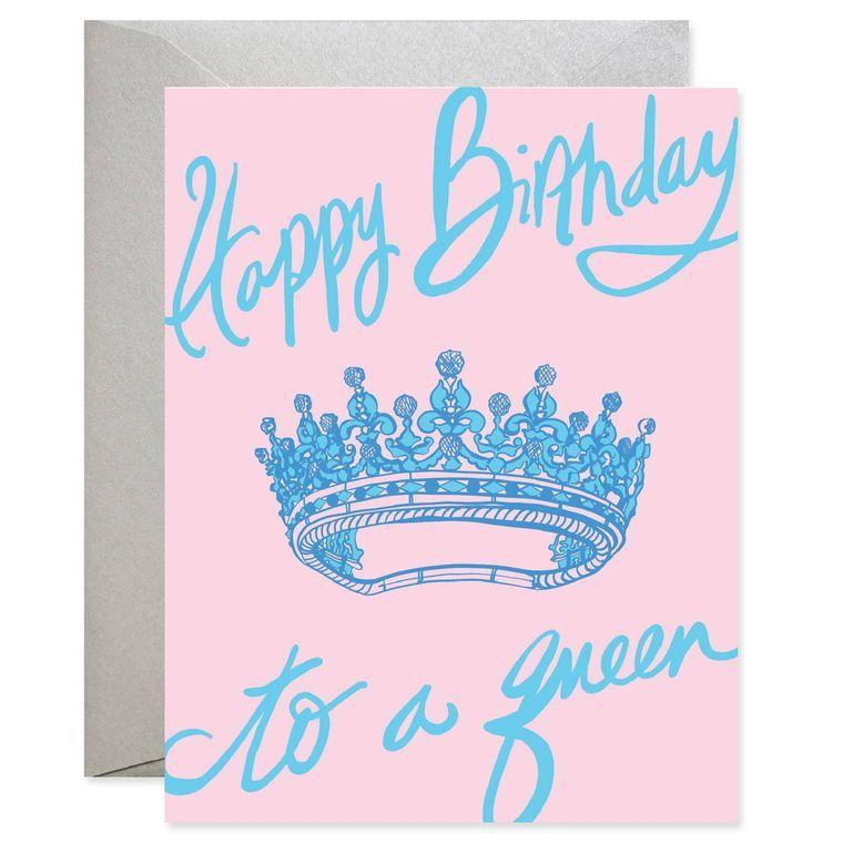 Happy Birthday Queen Card
