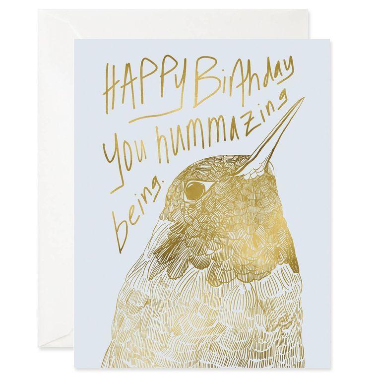 Hummazing Birthday Card