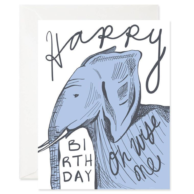 Wise One Birthday Card