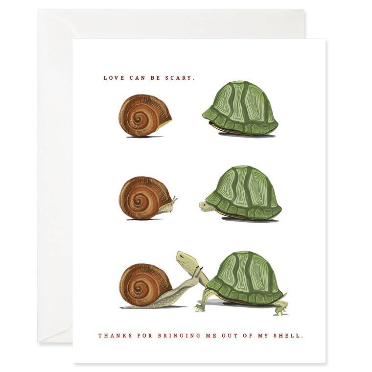 Out of My Shell Card