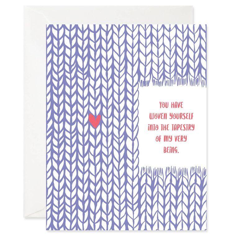 Woven Love Card