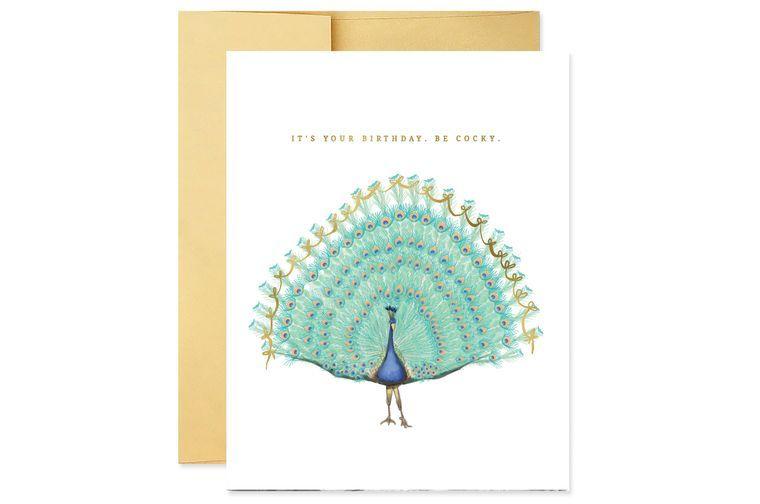 Be Cocky Birthday Card