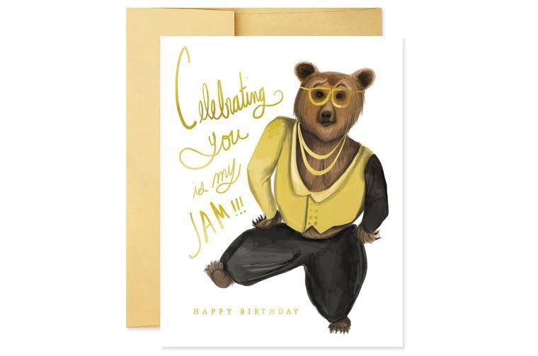 My Jam Birthday Card