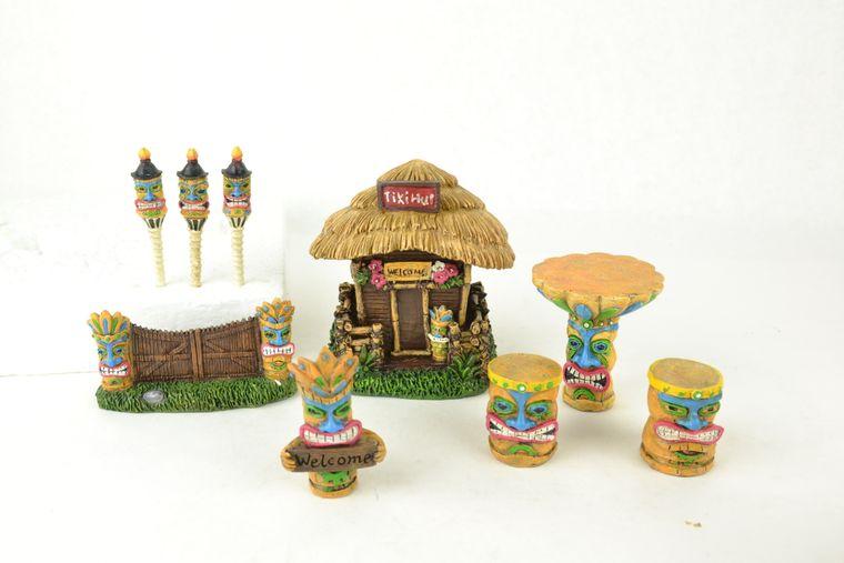 Tiki Fairy Garden Kit, 9pcs