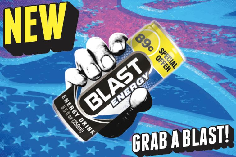 BLAST Energy Drink