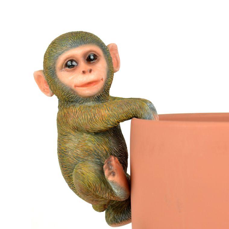 """6.75"""" x 3.25"""" Monkey Pot Hanger, 1pc"""