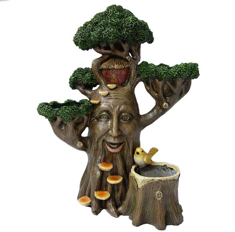 "18"" Tree House Planter, 1pc"