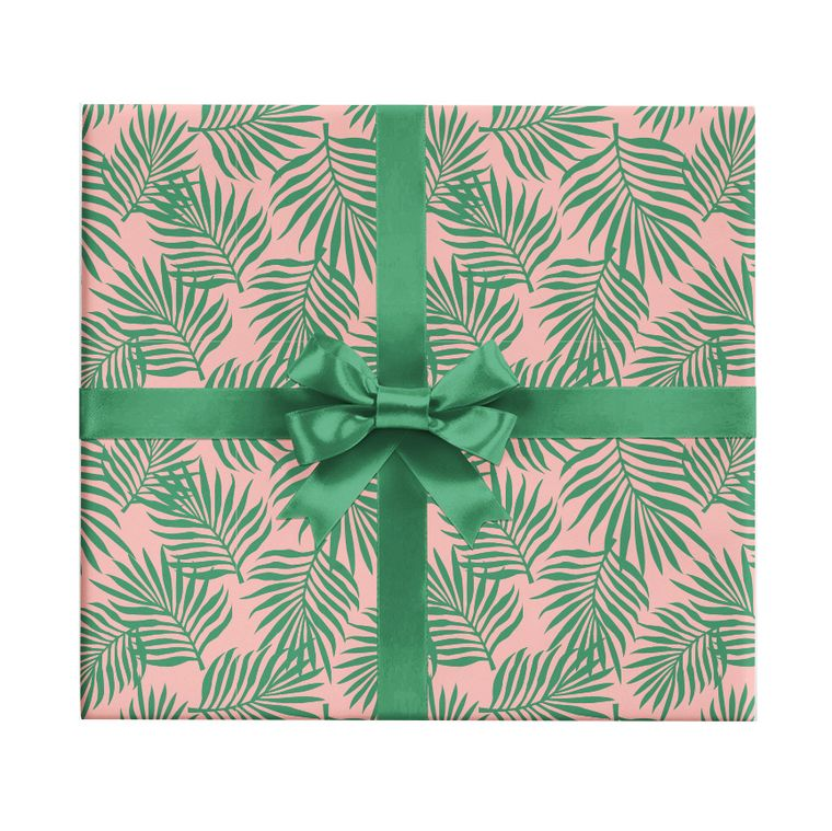 Palm Leaves Gift Wrap Sheet