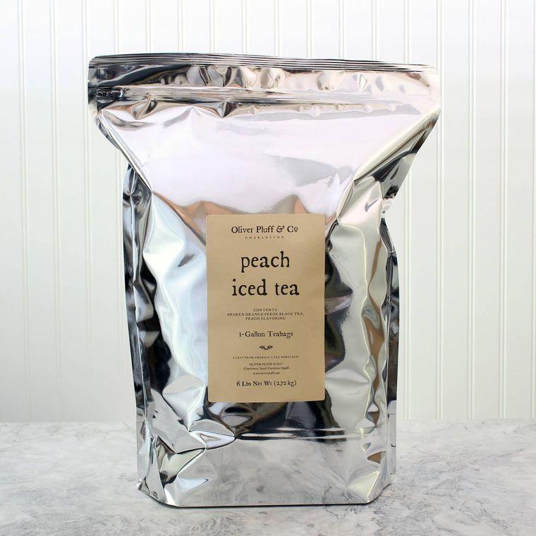 Peach Iced Tea - 96 One-Gallon Teabags