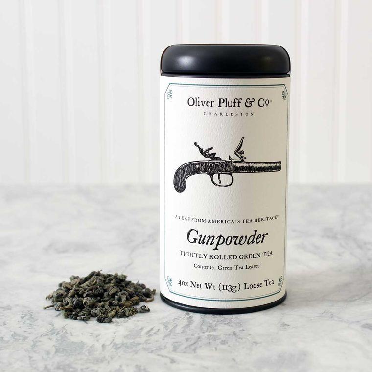 Gunpowder - Loose Tea in Signature Tea Tin