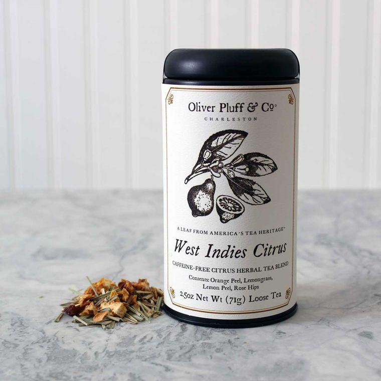 West Indies Citrus - Loose Tea in Signature Tea Tin