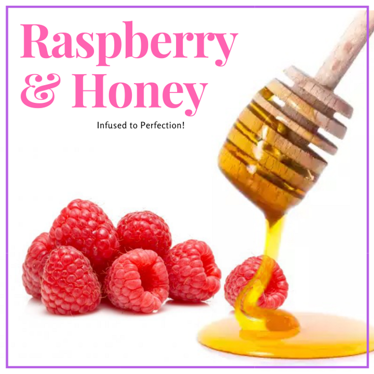 1LB Raspberry Infused Honey