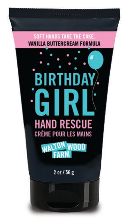 Birthday Girl Hand Rescue 2 oz tube