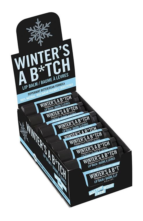 Lip Balm - Winter's A B*tch 20pc