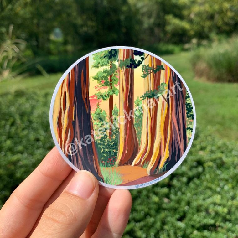 Redwoods National Park Stickers