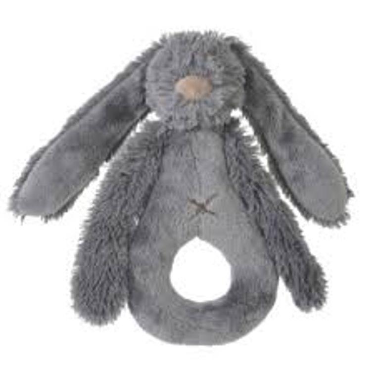 Newcastle Classics Deep Grey Rabbit Richie Rattle by Happy Horse