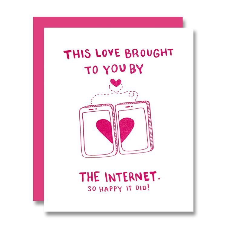 Internet Love, Valentine's Day Card