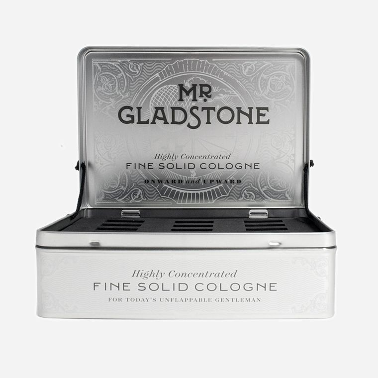 Mr. Gladstone Solid Cologne Empty Retail Display