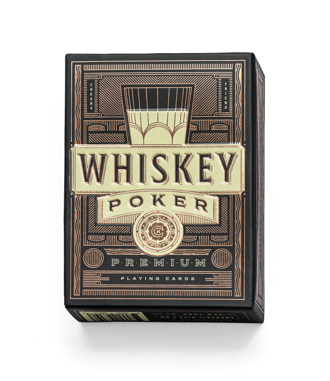 Whiskey Poker Playing Cards
