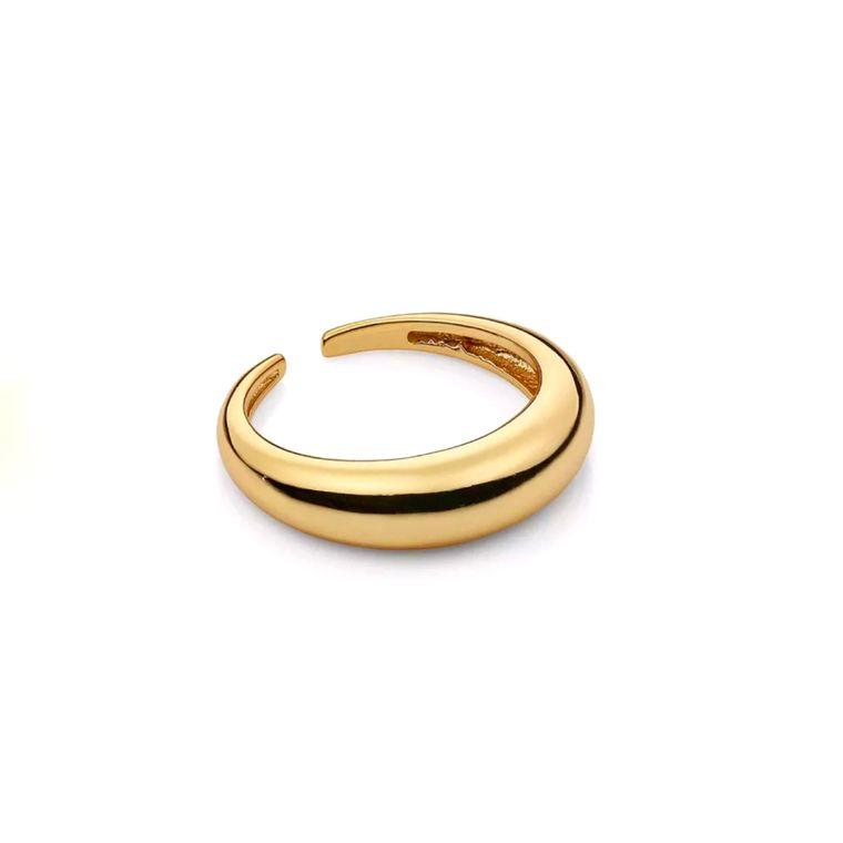 Gold Tubie Ring