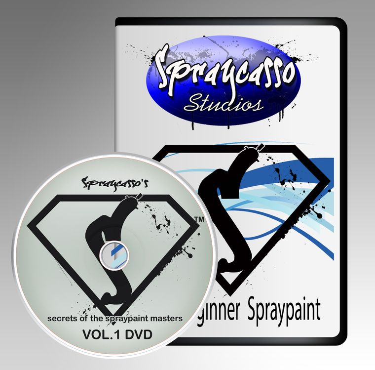 Spraycasso DVD's (instructional)