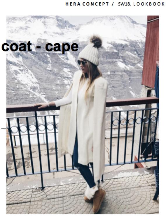 Hera Baby Alpaca Cape/Coat