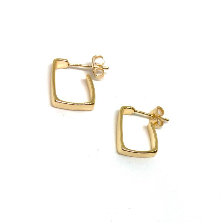 Addison Gold Hoops