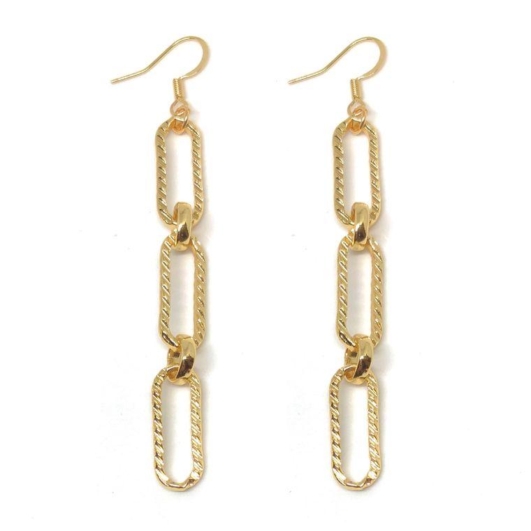Cher Link Earrings