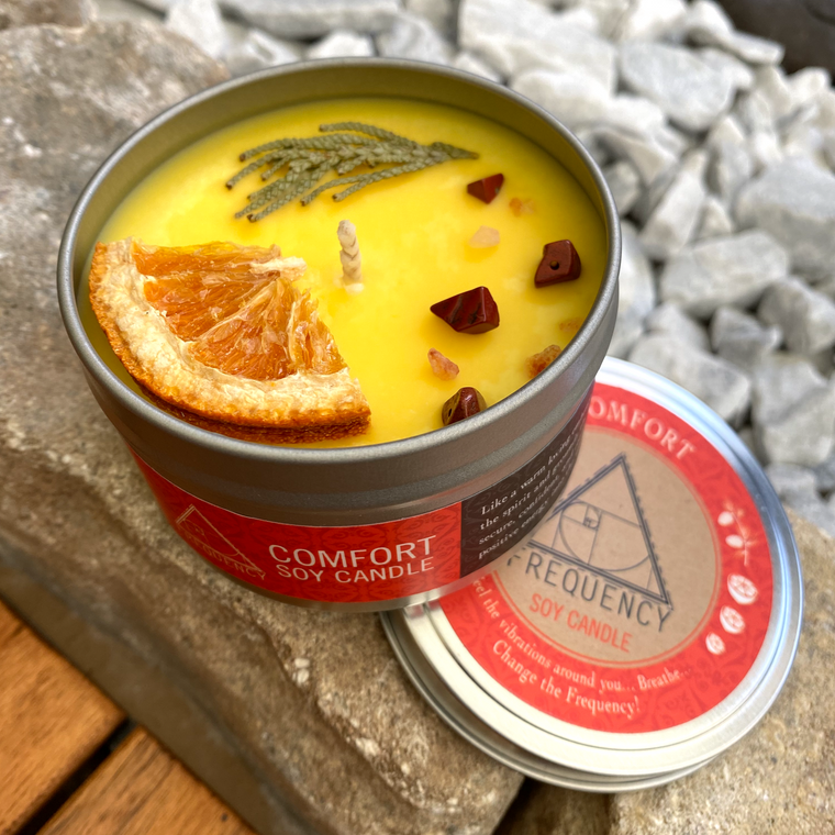 Comfort Crystal Soy Candle
