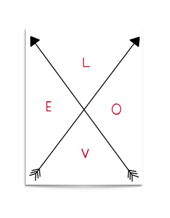 love arrows card