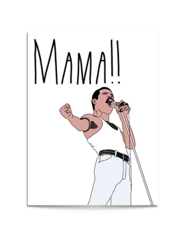 mama freddie card