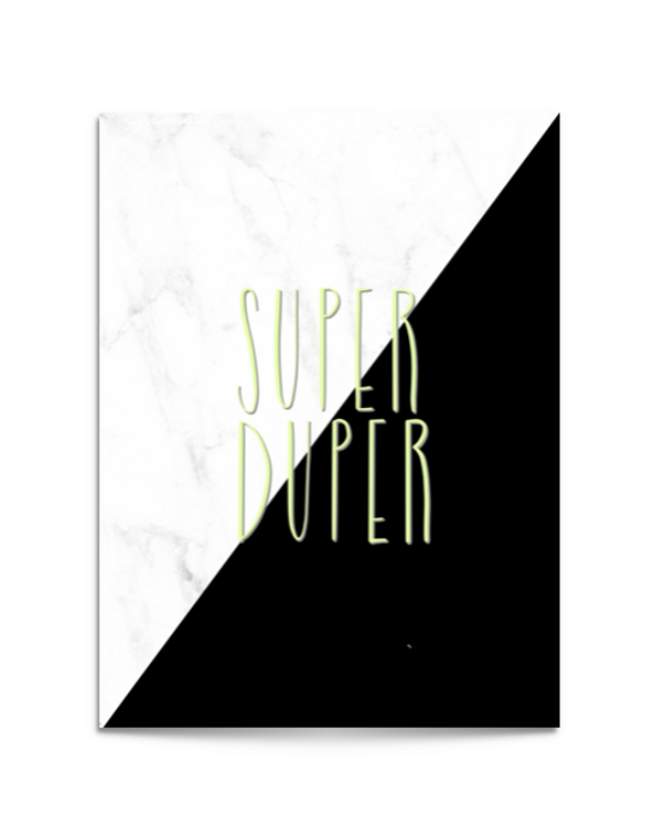 super duper card