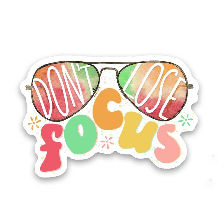 Sticker Glasses Focus