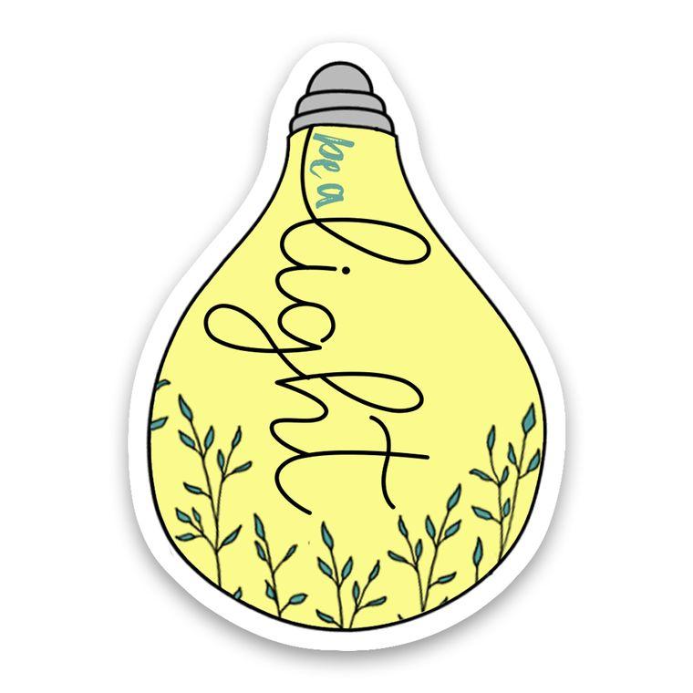 Sticker Light Bulb