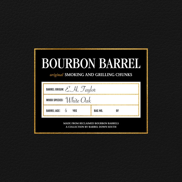 E.H. Taylor Grilling Chunks   Rare Bourbon   Grilling   Bourbon Gift   Whiskey