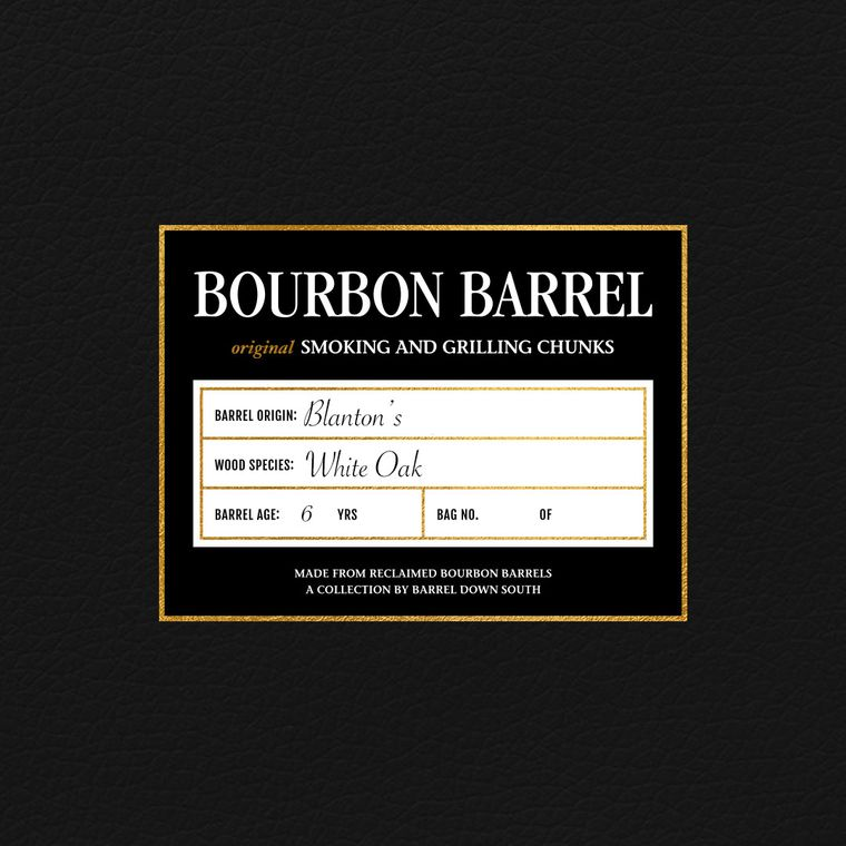 Blanton's Grilling Chunks   Rare Bourbon   Grilling   Bourbon Gift   Whiskey