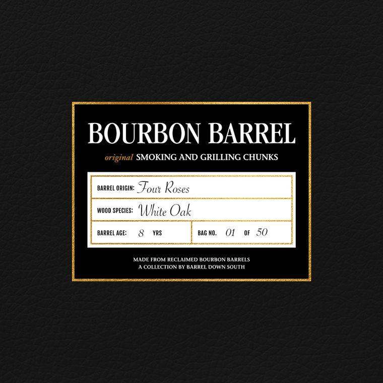 Four Roses Grilling Chunks   Rare Bourbon   Grilling   Bourbon Gift