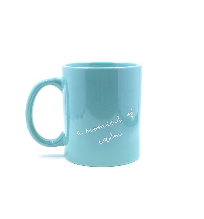 moment of calm mug