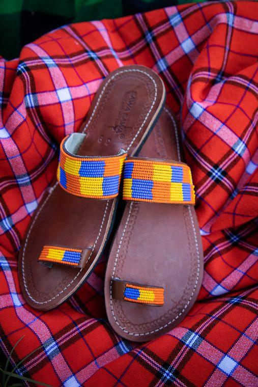 Desert Square Sandals
