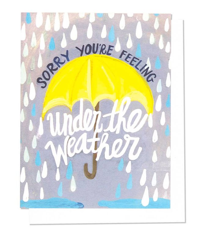 Under The Weather Single Card