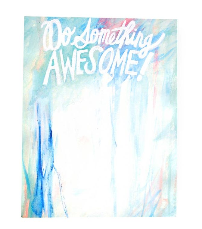 Do Something Awesome 100 Page Notepad
