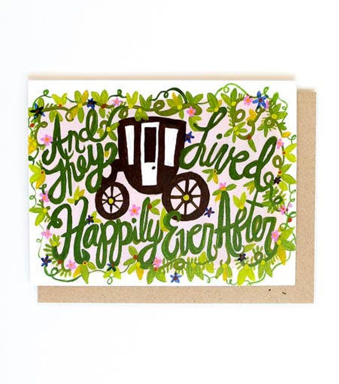 Happily Ever After Single Card