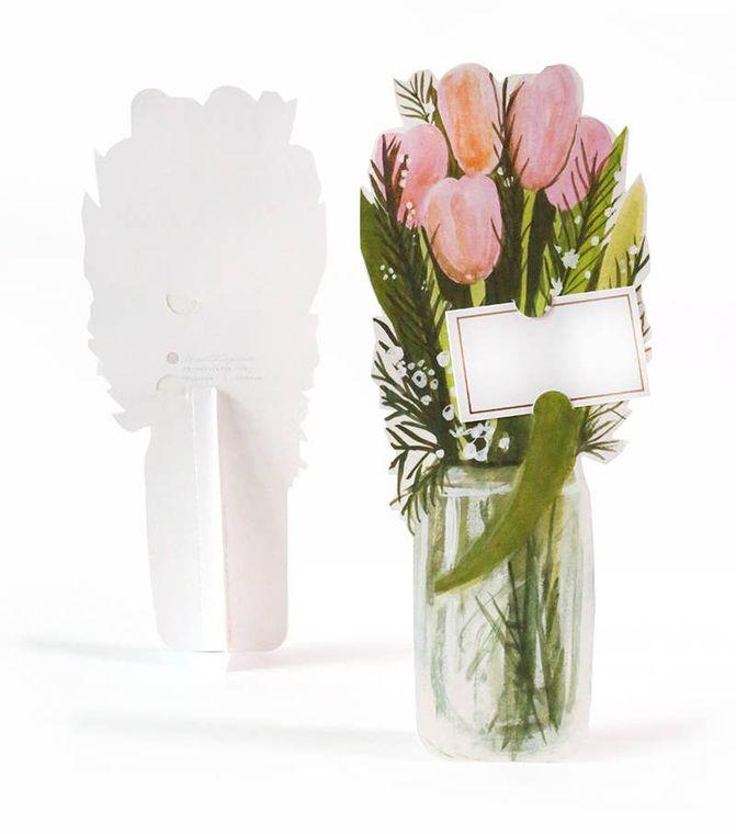 Tulip Florever Single Die-Cut & Interactive Card