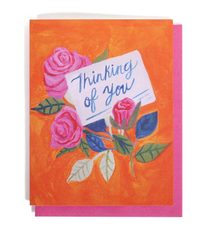 Thinking of You Single Card