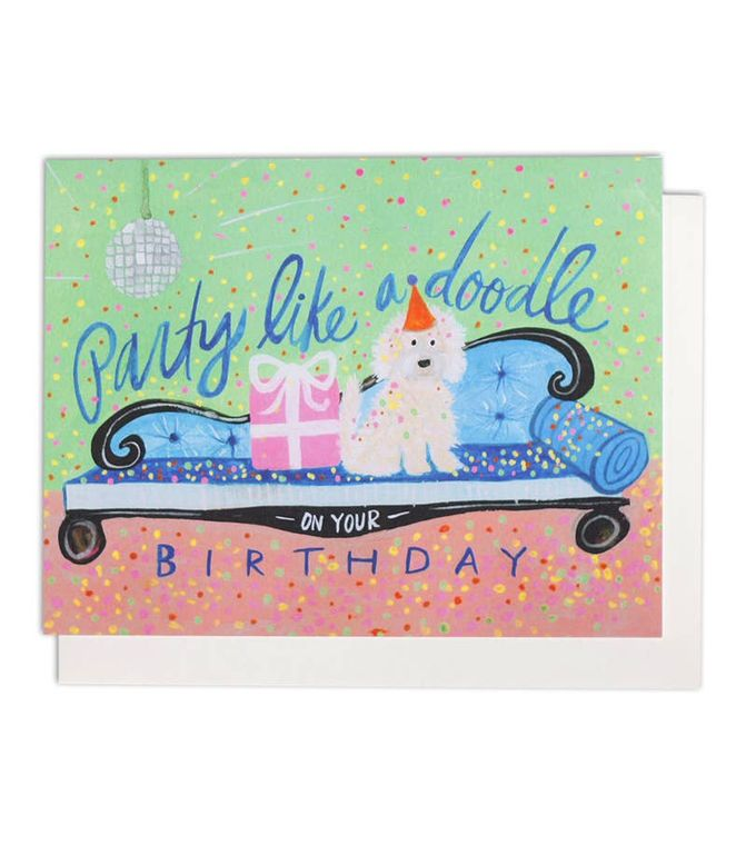 Party Like A Doodle Single Card