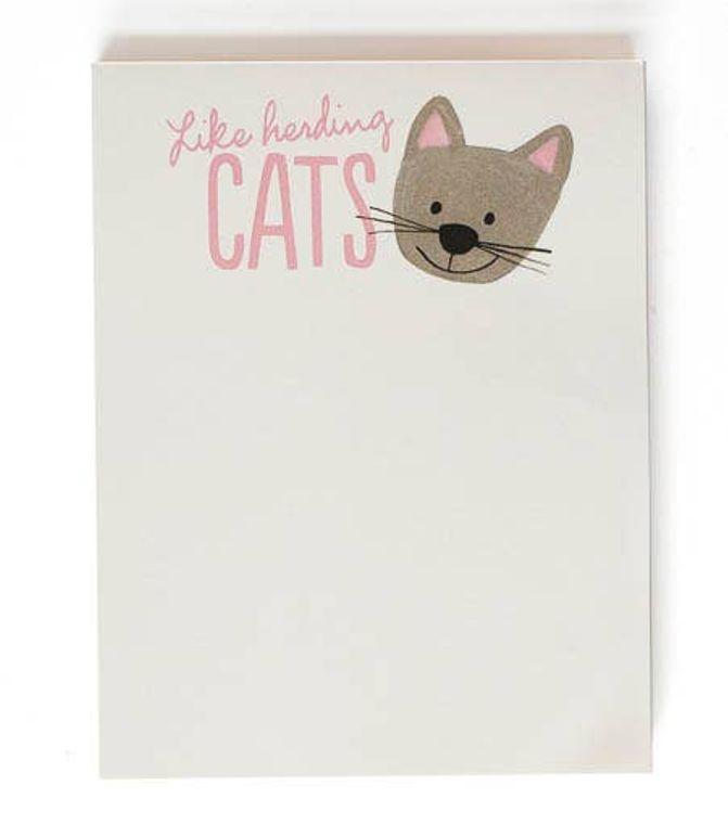 Like Herding Cats Notepad