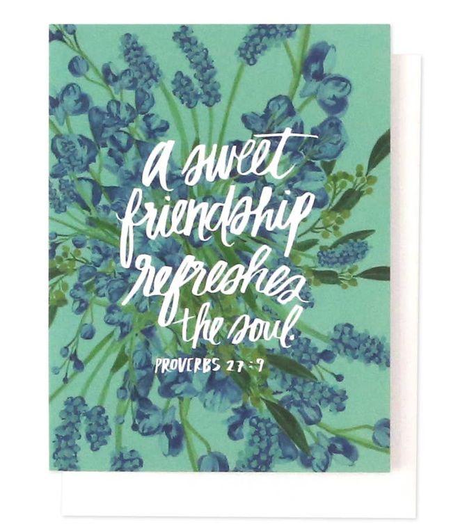Friendship Single Card