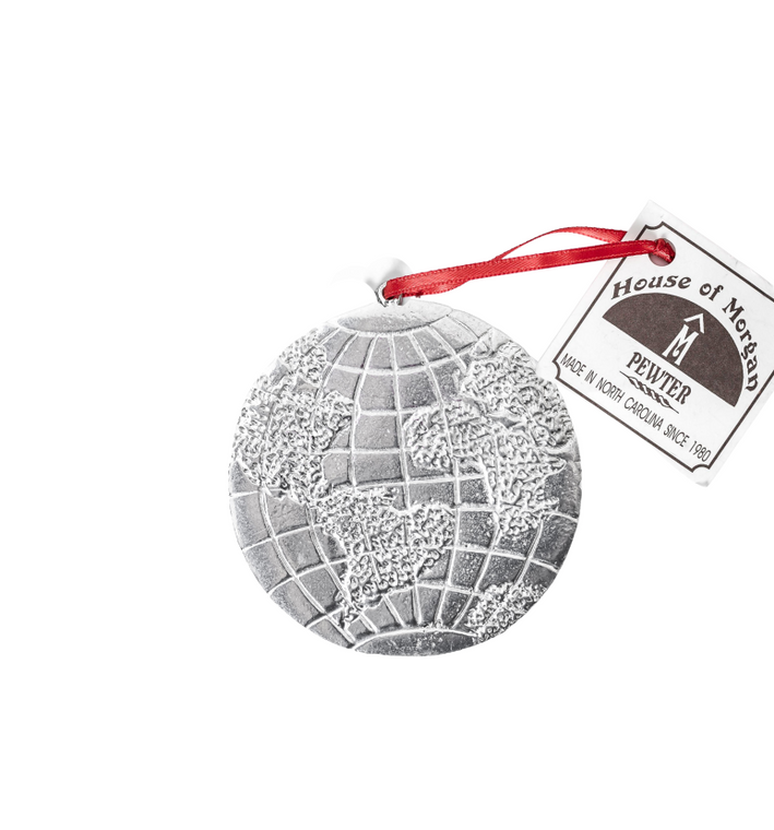 Pewter Planet Earth Day Gifts- Earrings, Necklaces, Magnets, Ornaments, Paper Weights, Key Chains,